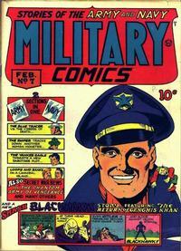 Cover Thumbnail for Military Comics (Quality Comics, 1941 series) #7