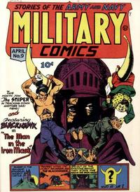 Cover Thumbnail for Military Comics (Quality Comics, 1941 series) #9