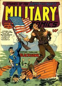 Cover Thumbnail for Military Comics (Quality Comics, 1941 series) #11
