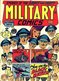 Cover Thumbnail for Military Comics (Quality Comics, 1941 series) #12
