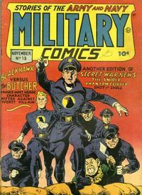 Cover Thumbnail for Military Comics (Quality Comics, 1941 series) #13