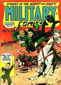 Cover Thumbnail for Military Comics (Quality Comics, 1941 series) #15