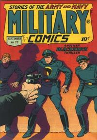 Cover Thumbnail for Military Comics (Quality Comics, 1941 series) #22