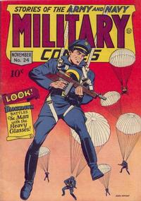 Cover Thumbnail for Military Comics (Quality Comics, 1941 series) #24