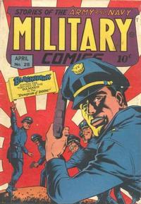 Cover Thumbnail for Military Comics (Quality Comics, 1941 series) #28
