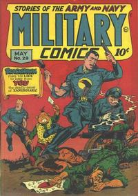 Cover for Military Comics (Quality Comics, 1941 series) #29