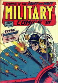 Cover Thumbnail for Military Comics (Quality Comics, 1941 series) #30