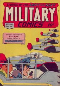 Cover Thumbnail for Military Comics (Quality Comics, 1941 series) #34