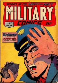 Cover Thumbnail for Military Comics (Quality Comics, 1941 series) #39
