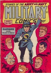 Cover Thumbnail for Military Comics (Quality Comics, 1941 series) #40