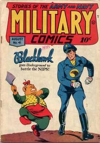 Cover Thumbnail for Military Comics (Quality Comics, 1941 series) #41