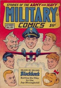 Cover Thumbnail for Military Comics (Quality Comics, 1941 series) #43