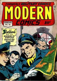 Cover Thumbnail for Modern Comics (Quality Comics, 1945 series) #46