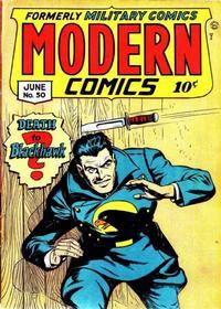 Cover Thumbnail for Modern Comics (Quality Comics, 1945 series) #50