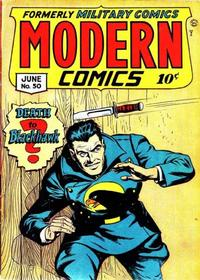 Cover Thumbnail for Modern Comics (Quality Comics, 1945 series) #50