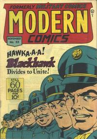 Cover Thumbnail for Modern Comics (Quality Comics, 1945 series) #55