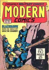 Cover Thumbnail for Modern Comics (Quality Comics, 1945 series) #58