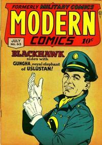 Cover Thumbnail for Modern Comics (Quality Comics, 1945 series) #63