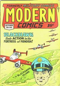 Cover Thumbnail for Modern Comics (Quality Comics, 1945 series) #66