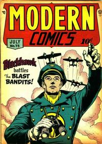 Cover Thumbnail for Modern Comics (Quality Comics, 1945 series) #75