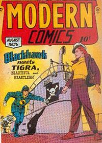 Cover Thumbnail for Modern Comics (Quality Comics, 1945 series) #76
