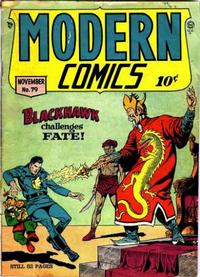 Cover Thumbnail for Modern Comics (Quality Comics, 1945 series) #79
