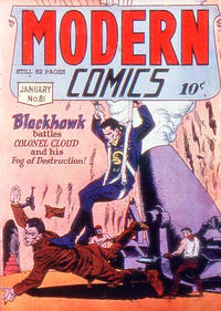 Cover Thumbnail for Modern Comics (Quality Comics, 1945 series) #81