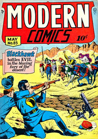 Cover Thumbnail for Modern Comics (Quality Comics, 1945 series) #85