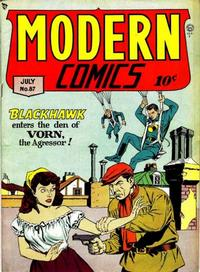 Cover Thumbnail for Modern Comics (Quality Comics, 1945 series) #87