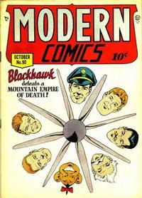 Cover Thumbnail for Modern Comics (Quality Comics, 1945 series) #90