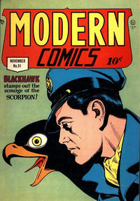Cover for Modern Comics (Quality Comics, 1945 series) #91