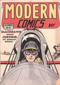 Cover Thumbnail for Modern Comics (Quality Comics, 1945 series) #92