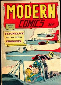 Cover Thumbnail for Modern Comics (Quality Comics, 1945 series) #93