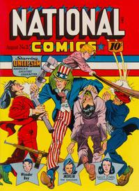 Cover Thumbnail for National Comics (Quality Comics, 1940 series) #2