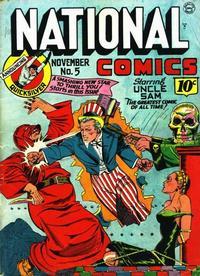 Cover Thumbnail for National Comics (Quality Comics, 1940 series) #5