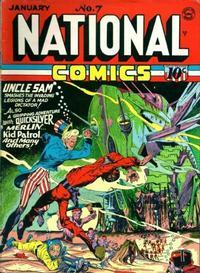 Cover Thumbnail for National Comics (Quality Comics, 1940 series) #7