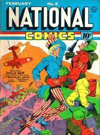 Cover Thumbnail for National Comics (Quality Comics, 1940 series) #8