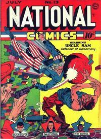 Cover Thumbnail for National Comics (Quality Comics, 1940 series) #13
