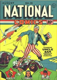 Cover Thumbnail for National Comics (Quality Comics, 1940 series) #14