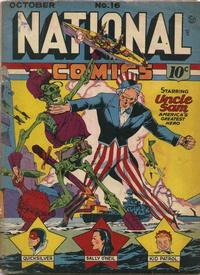 Cover Thumbnail for National Comics (Quality Comics, 1940 series) #16