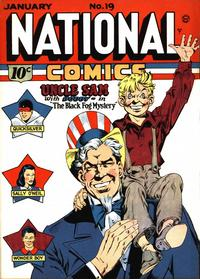 Cover Thumbnail for National Comics (Quality Comics, 1940 series) #19