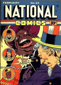 Cover Thumbnail for National Comics (Quality Comics, 1940 series) #20