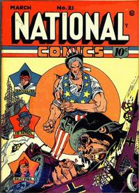 Cover Thumbnail for National Comics (Quality Comics, 1940 series) #21