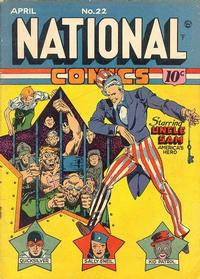 Cover Thumbnail for National Comics (Quality Comics, 1940 series) #22