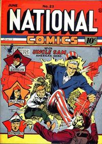Cover Thumbnail for National Comics (Quality Comics, 1940 series) #23