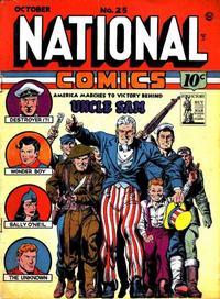 Cover Thumbnail for National Comics (Quality Comics, 1940 series) #25
