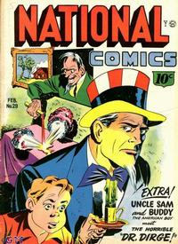 Cover Thumbnail for National Comics (Quality Comics, 1940 series) #29