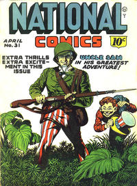 Cover Thumbnail for National Comics (Quality Comics, 1940 series) #31