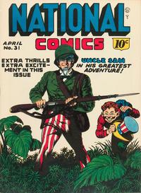 Cover Thumbnail for National Comics (Quality Comics, 1940 series) #31
