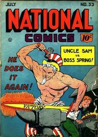 Cover Thumbnail for National Comics (Quality Comics, 1940 series) #33